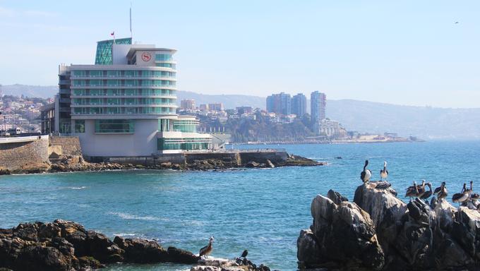 Coast of Vina Del Mar.