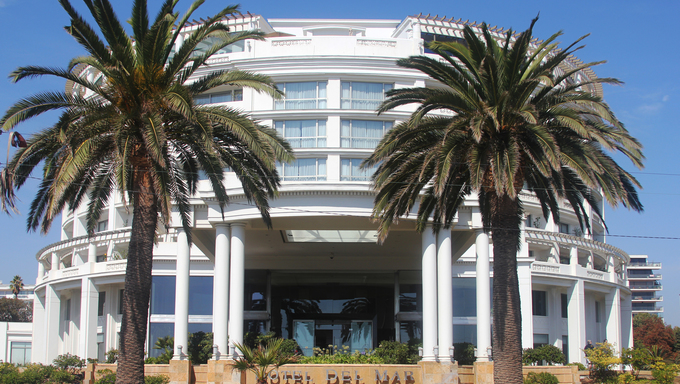 Hotel in Vina Del Mar, Chile.