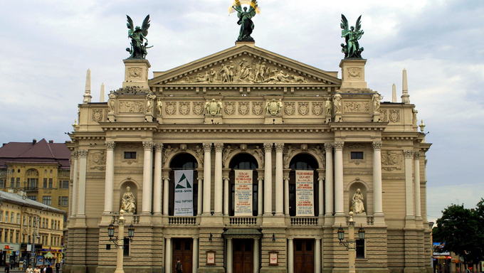 Lviv Opera and Ballet Theater, Ukraine