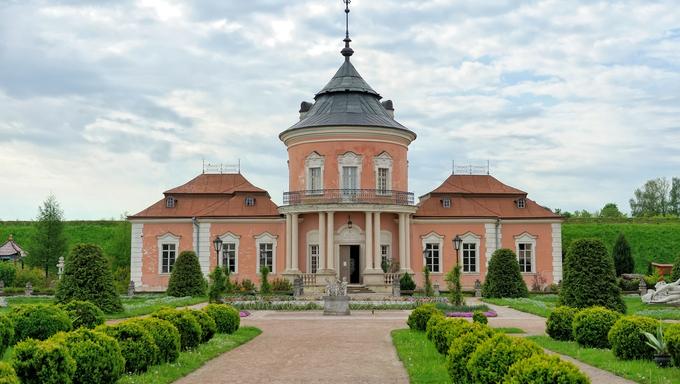 Zolochiv castle (Ukraine, Lviv Region, Dutch style, built in 1634-36 by Jakub Sobieski)