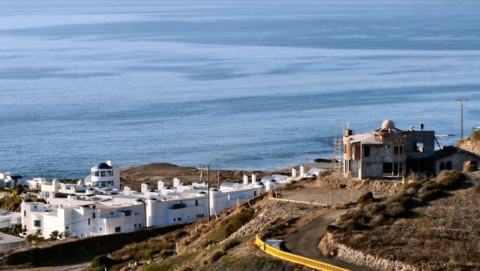 A view of the Tijuana Coastline.