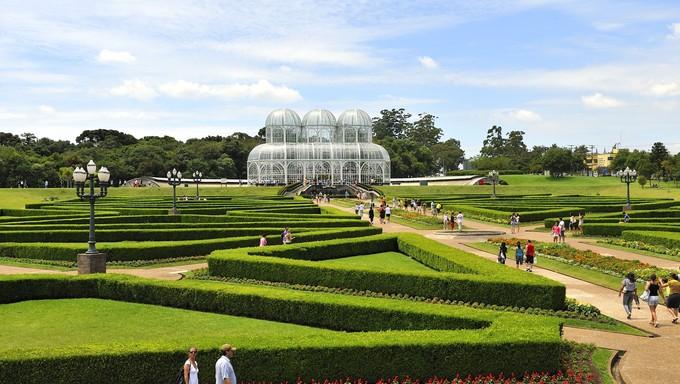 Botanic Garden in Curitiba, Brazil.