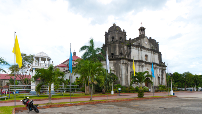 Naga Metropolitan Cathedral- Is the oldest cathedral in the whole southern Luzon. It was built in 1573, and was inaugurated in 1575. It is originally known as the St. John the Evangelist Cathedral.