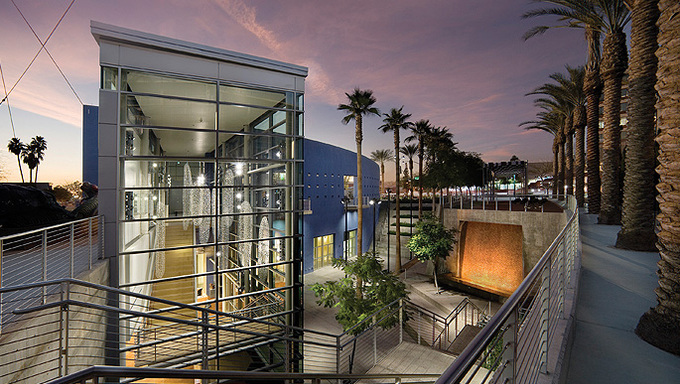 A view of the Mesa Arts Center.
