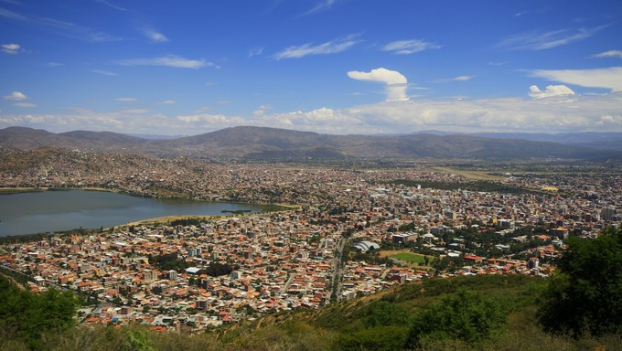 City of Cochamba, Bolivia.