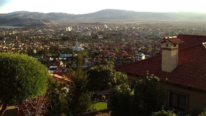 A view of the Cochabamba Valley.