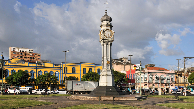 Belém is the capital of the Brazilian state of Pará. It is also the state's largest city and one of the most populous in the country.