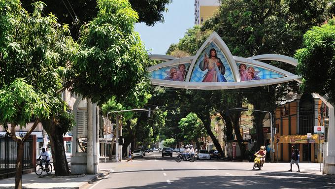 Belém Brazil Av Nazaré.
