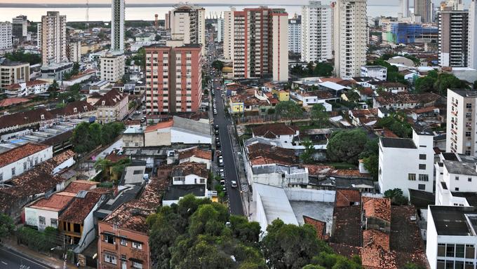 Brazil Belem panorama.