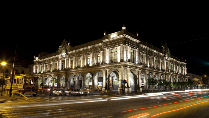 Historical building in Guadalajara, Jalisco, Mexico
