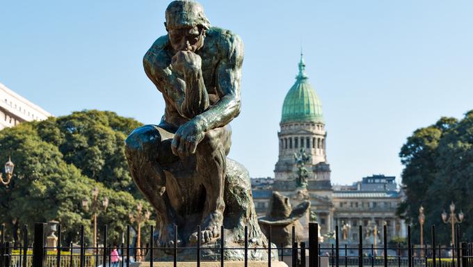 Congreso de la Nacion Argentina, in Buenos Aires Argentina