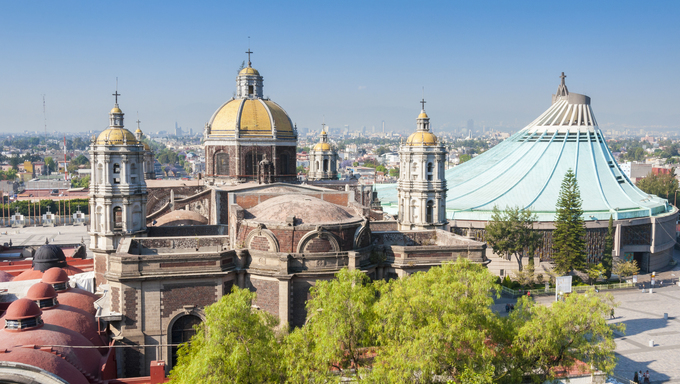 La Bascilica de Guadalupe