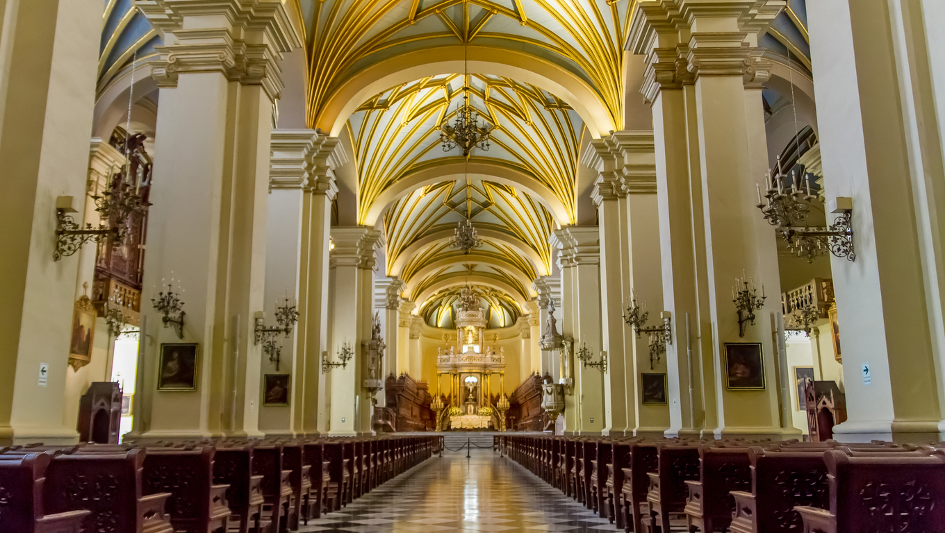 Cathedral of Lima in Peru