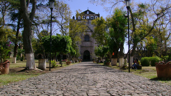 Iglesia de Tlayacapan