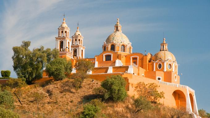 Santuario de los remedios, Cholula, Puebla (Mexico)