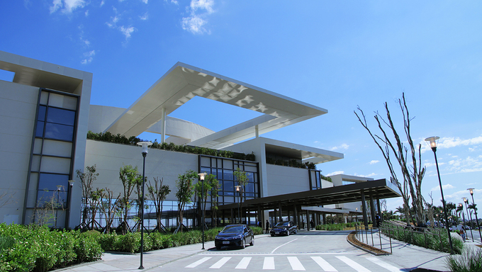 "A shopping ceter known by ""Iguatemi"" located in Campinas."
