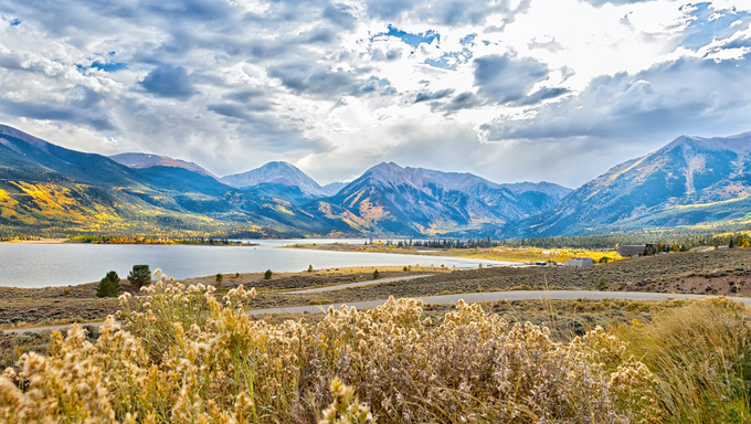 Beautiful and majestic Twin Lakes, Colorado. Sits at the base of the highest peak in Colorado, Mount Elbert.