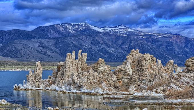 Mono Lake in the Northern tip of the Bakersfield Mission.