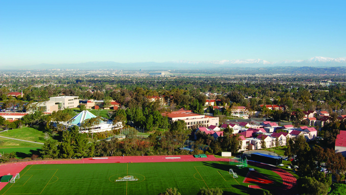 Concordia University in Irvine, California.