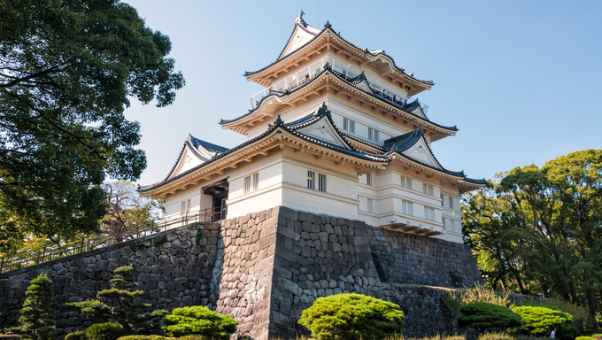 Odawara Castle is a Hirayama-style Japanese castle in Odawara, Japan.