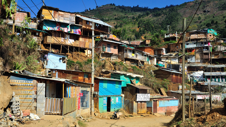 Santo Domingo district  in MEDELLIN .Department of Antioquia. COLOMBIA