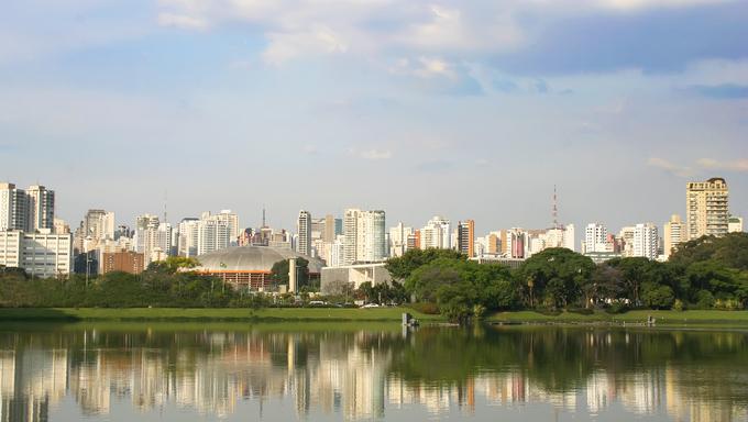 Skyline of Sao Paulo, Brasil.