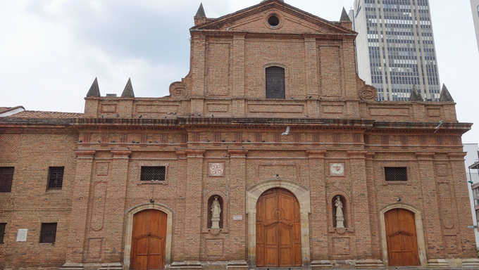 The San Francisco church in Cali, Colombia