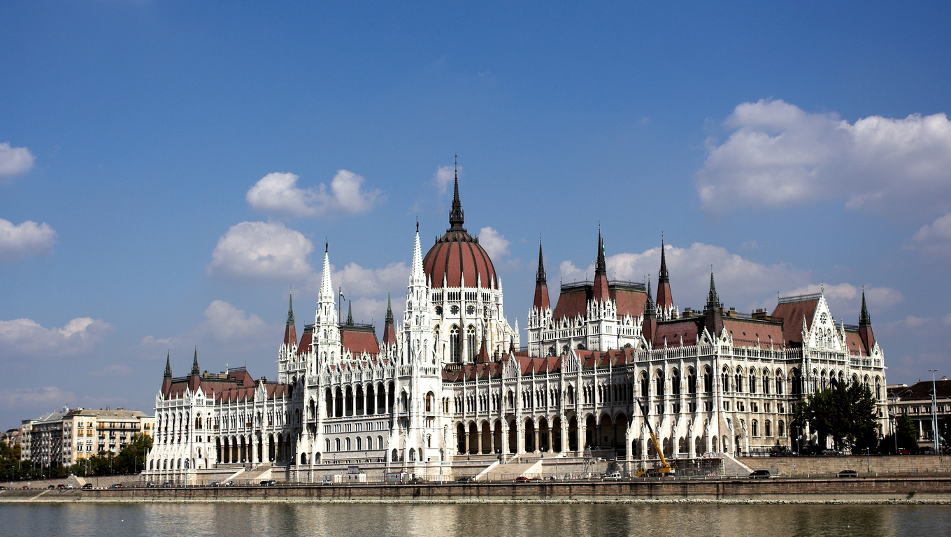 Budapest,Hungary-the building of the Parliament