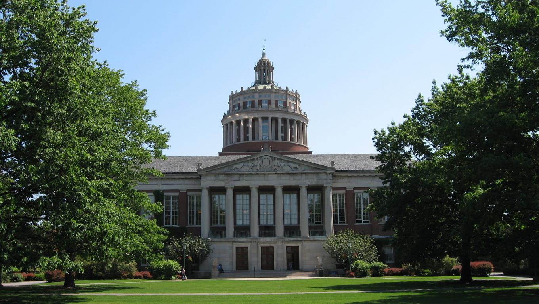 A New York college in western Utica.