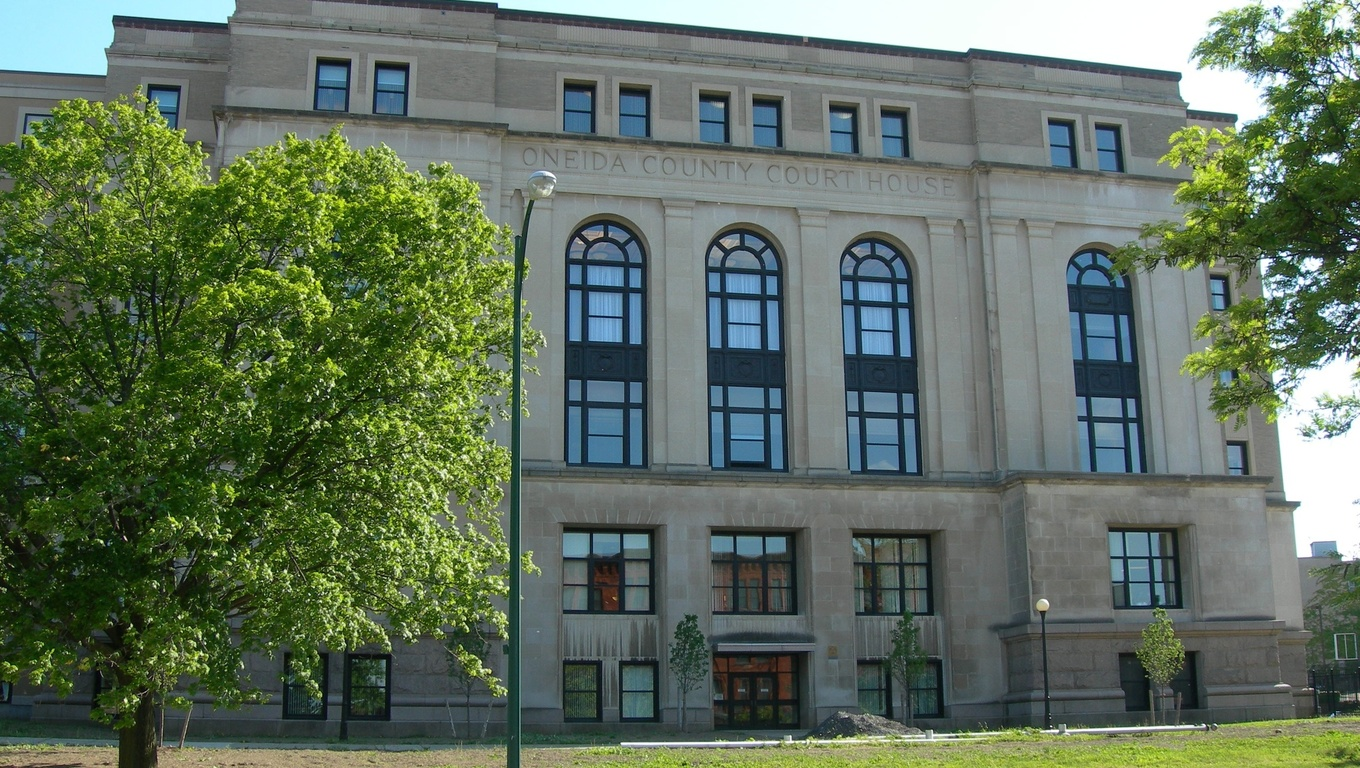 The Oneida County Court House.