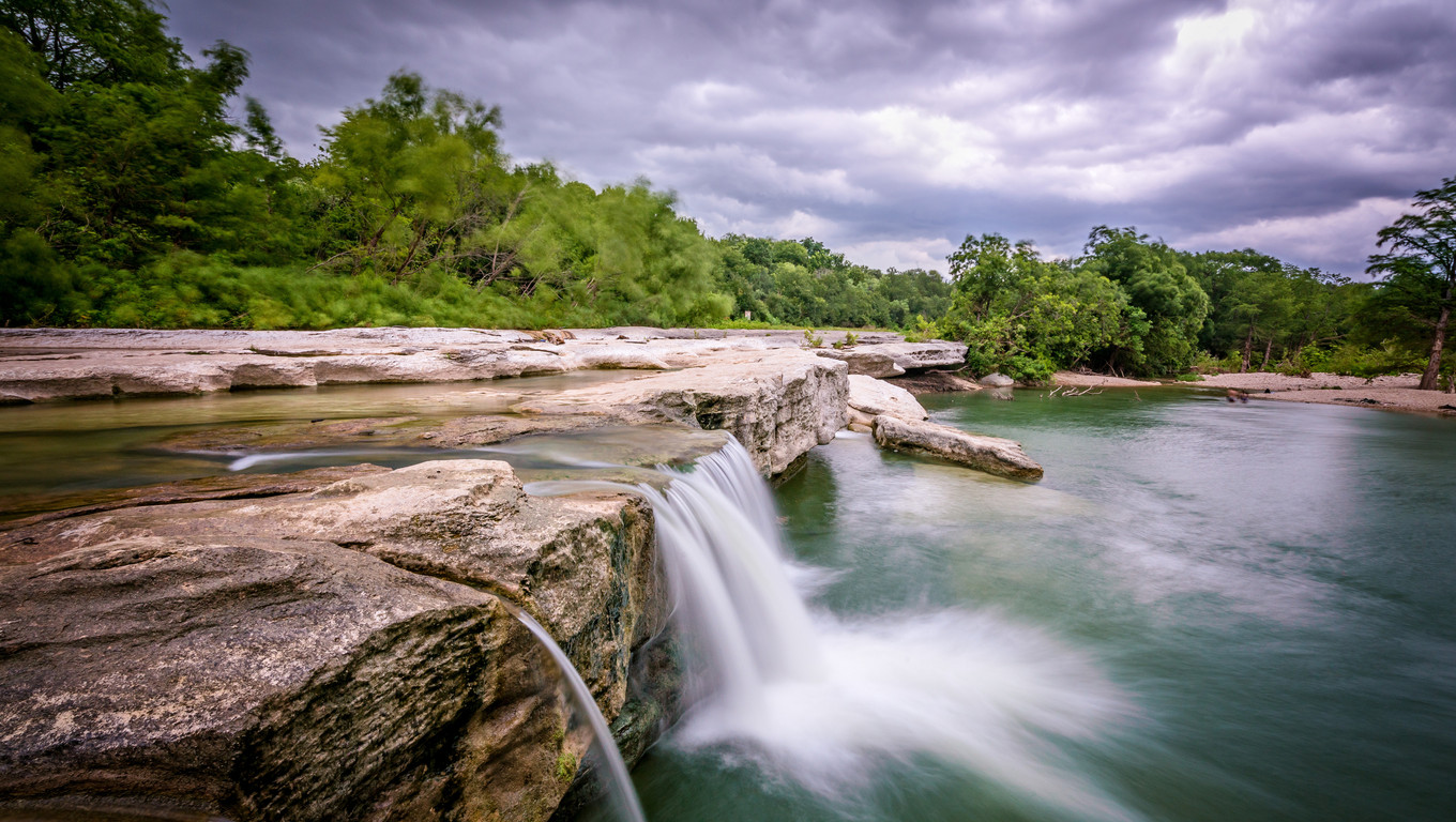 Waterfall at McKinney Falls State Park